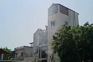 Cháy quán càphê tại huyện Đông Anh, 2 người tử vong do ngạt khí