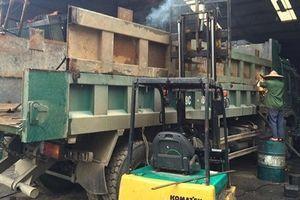 Mượn thùng xe tải đúng chuẩn đi đăng kiểm có bị xử phạt?
