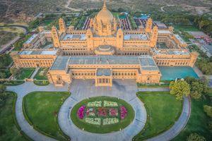 Nơi ở của hoàng gia Rajasthan: Khách sạn cao cấp bậc nhất tại Ấn Độ