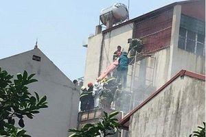 Cháy quán cafe 5 tầng nhà ống, 2 người tử vong