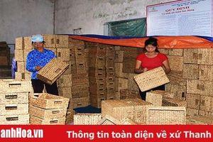 Huyện Nga Sơn quy hoạch, phát triển công nghiệp, tiểu - thủ công nghiệp
