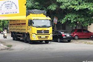 Ai xê dịch biển cấm cho xe Công ty CP Bia Sài Gòn - Nghệ Tĩnh 'lách luật'?