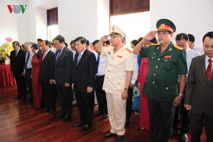 Lãnh đạo TPHCM dâng hương tưởng nhớ Chủ tịch Hồ Chí Minh