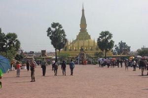 Cộng đồng Việt kiều tại Lào tham dự Đại lễ Phật Đản