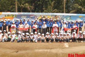 Biển Hải Tiến Thanh Hóa: chung tay bảo vệ 'Vì một môi trường biển không rác thải'