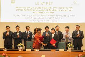 CNN tiếp tục phối hợp quảng bá hình ảnh để Hà Nội là điểm đến hàng đầu thế giới