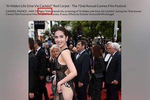 Ngọc Trinh lên tiếng về việc bị 'ném đá' vì mặc phản cảm tại LHP Cannes