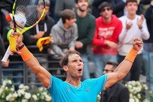 Nadal đánh bại Djokovic để lên ngôi tại Rome Masters