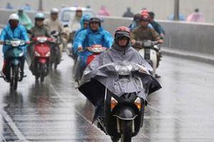 Từ chiều nay, Hà Nội đón mưa dông chấm dứt nắng nóng, nhiệt độ giảm mạnh