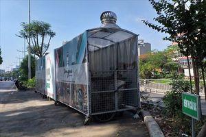 Hà Nội trang bị 'nhà ở di động' cho xe đẩy rác