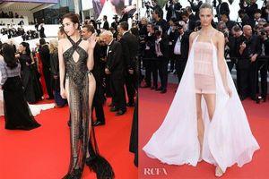 Ngoài Ngọc Trinh, một loạt mỹ nhân cũng diện đồ phản cảm tại Cannes 2019