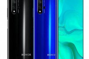 Lộ diện Honor 20 với camera mới sẵn sàng tạo ra sự khác biệt