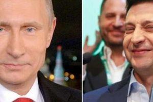 Thái độ lạ của Putin khi Zelensky nhậm chức