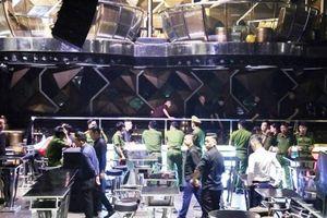 Nhiều người dương tính với chất ma túy trong vũ trường New Phương Đông