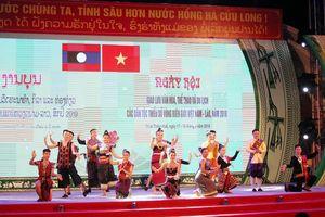 Thắm tình hữu nghị các dân tộc vùng biên giới Việt - Lào