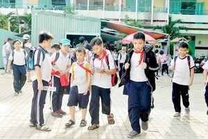 Xây dựng khu vực trường học an toàn