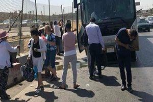 Xe buýt bị tấn công ở Ai Cập, hàng chục du khách bị thương