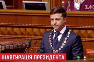 Toàn cảnh lễ nhậm chức Tổng thống Ukraine của ông Zelensky