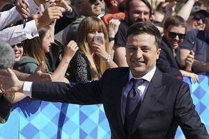 Danh hài Zelensky tuyên thệ nhậm chức TT Ukraine