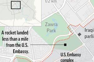 Iraq: Tấn công rocket gần khu vực Đại sứ quán Mỹ ở Vùng Xanh