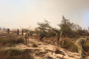 BĐBP Quảng Bình: Dập lửa cứu rừng