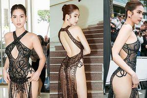 Nhà thiết kế nói gì với bộ váy 'mặc như không' của Ngọc Trinh?