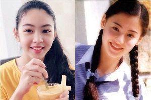 Con gái MC Quyền Linh 14 tuổi đã cao 1m70, được ví là bản sao Trương Bá Chi