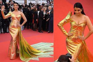 'Hoa hậu đẹp nhất mọi thời đại' Aishwarya Rai quyến rũ trên thảm đỏ Cannes