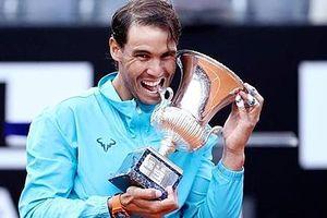 Nadal nói gì sau lần thứ 9 lên ngôi Rome Masters?