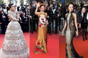 Những sao Việt nào từng khoe dáng gợi cảm ở LHP Cannes?