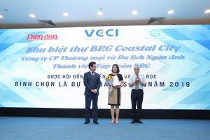 Dự án BRG Coastal City được bình chọn là dự án đáng sống 2019