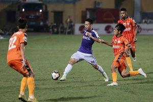 Tổng hợp vòng 10 V-League: Sài thành đại thắng, Hà Nội FC trở lại