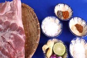 Cách làm thịt heo quay bằng nồi chiên không dầu ngon không cưỡng nổi