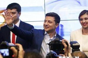 Tân Tổng thống Ukraine Zelensky tuyên thệ nhậm chức