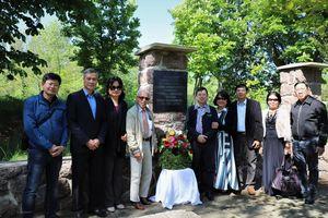 Hành trình về nguồn, thăm khu tưởng niệm Bác Hồ tại Moritzburg