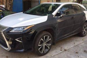 Xe sang Lexus RX 350 bị trộm sau khi chủ nhân vào quán cà phê