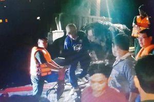 Tàu cá chìm sau va chạm, 9 thuyền viên gặp nạn trên biển Vũng Tàu
