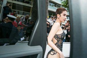 Cùng kiểu váy hở bạo, vì sao Kendall Jenner không bị chê 'gợi dục' như Ngọc Trinh?