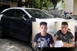 Thủ đoạn tinh vi của 2 thanh niên trộm xe sang Lexus ở Đà Nẵng