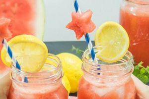Pha chế đồ uống không đường giải nhiệt ngày nắng nóng