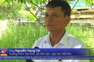 Người dân Hà Tĩnh chặn kênh vì ô nhiễm