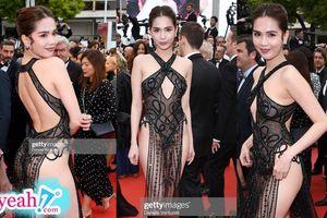 Không chỉ cư dân mạng nước ngoài, Ngọc Trinh bị fan Việt la ó vì mặc trang phục quá phản cảm trên thảm đỏ Cannes 2019