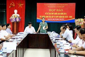 Thanh Hóa: Hơn 35 nghìn thí sinh tham dự kỳ thi THPT