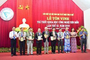 Thừa Thiên Huế: Tôn vinh 16 trí thức Khoa học và Công nghệ tiêu biểu
