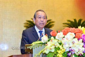 Phó Thủ tướng Thường trực Trương Hòa Bình: 'Xử lý nghiêm mọi hình thức chạy chức, chạy quyền'