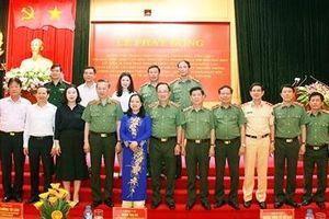 Lực lượng CAND lập công dâng Bác, vì nước quên thân, vì dân phục vụ