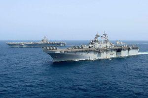 Mỹ tập trận hải quân ở biển Arab giữa lúc căng thẳng với Iran