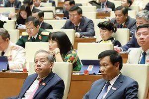 Toàn cảnh phiên Khai mạc Kỳ họp thứ 7, Quốc hội khóa XIV