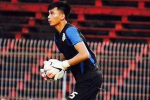 Cận cảnh sai lầm của thủ môn Văn Cường ở trận Quảng Nam 1-1 Nam Định