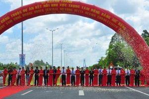 Khánh thành cầu Vàm Cống kết nối khu vực Trung tâm đồng bằng Mê Kông